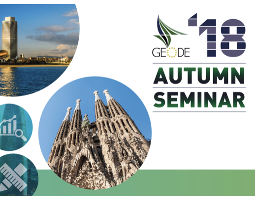 Bilderesultat for GEODE Autumn Seminar in Barcelona 31.10.18